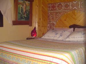 Cama ou camas em um quarto em Casa Dell Angelo Apartamentos