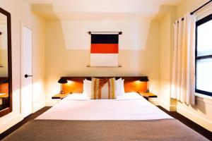 Un ou plusieurs lits dans un hébergement de l'établissement Freehand Chicago