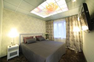 Кровать или кровати в номере Гостиница Герда