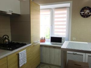 Кухня или мини-кухня в Апартаменты Густав Климт