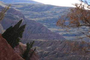 Cabañas Azul Andino durante el invierno