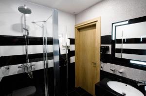 Łazienka w obiekcie Novobilski
