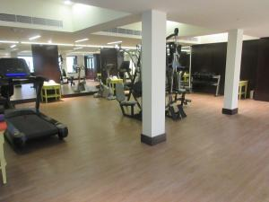 """The fitness centre and/or fitness facilities at Fragrant Nature Kochi - """"A Classified Five Star Hotel"""""""