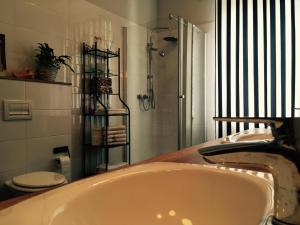 Łazienka w obiekcie Hostel Subtella