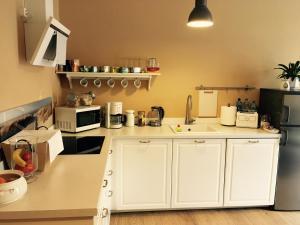 Kuchnia lub aneks kuchenny w obiekcie Hostel Subtella