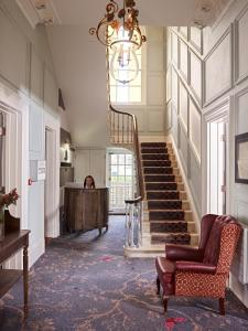The lobby or reception area at Cotswold Grange