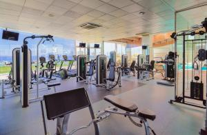 The fitness center and/or fitness facilities at H10 Rubicón Palace