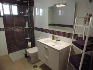 A bathroom at Apartamento Blue Turtle