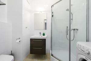 Łazienka w obiekcie Park Avenue Apartments