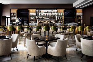 The lounge or bar area at The Gwen, a Luxury Collection Hotel, Michigan Avenue Chicago
