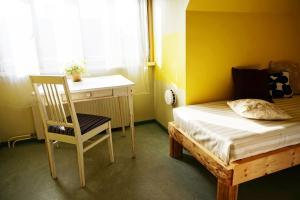 Voodi või voodid majutusasutuse Looming Hostel toas