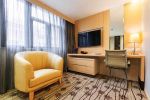 A television and/or entertainment center at Metropark Hotel Mongkok