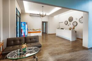 The lobby or reception area at Panini Residence
