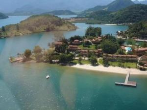 A bird's-eye view of Casa Paraíso
