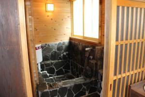 A bathroom at Hakodate Classic Hotels