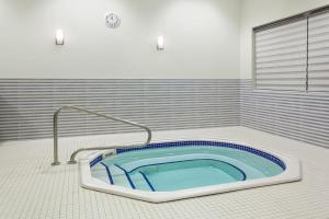 The swimming pool at or near Wyndham Garden Edmonton Airport