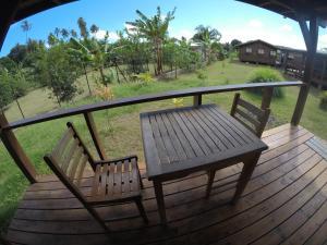 Uma varanda ou terraço em PainaPaopao Backpacker