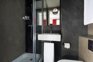 A bathroom at Hotel Pilime