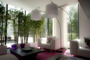 A seating area at Primavera Perfume Hotel