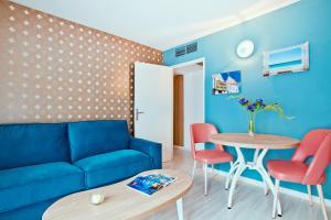 Ein Sitzbereich in der Unterkunft Residhome Nice Promenade