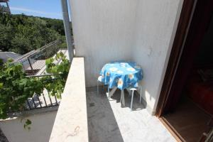 A balcony or terrace at Apartment Sandi