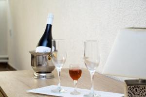 Drinks at Hotel Piramida Sunca
