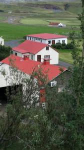 A bird's-eye view of Giljur Guesthouse