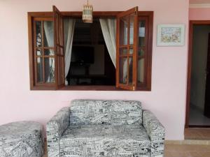 A seating area at Vila Cinzia
