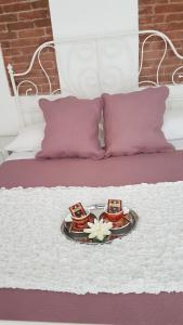 A bed or beds in a room at Il Timone