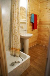 Ванная комната в Guest house Ustujanin & pomor