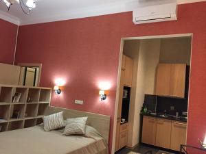 Телевизор и/или развлекательный центр в Apartments