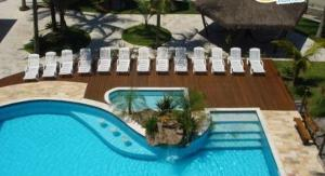 A view of the pool at Valentina Praia Hotel or nearby