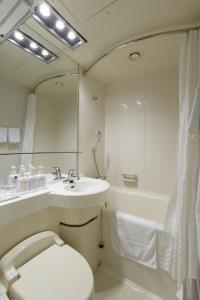 A bathroom at Via Inn Asakusa
