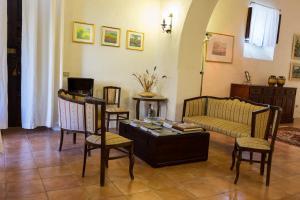 Area soggiorno di Casa di Nonna Maria
