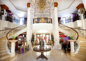 The lobby or reception area at The Mansion Resort Hotel & Spa