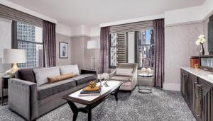 A seating area at WestHouse Hotel New York