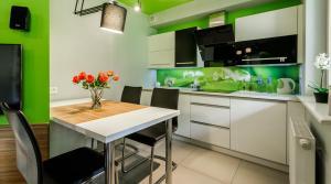 Kuchnia lub aneks kuchenny w obiekcie Rent like home - Droga na Bystre