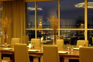 A restaurant or other place to eat at K108 Hotel Doha