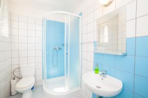 Ein Badezimmer in der Unterkunft Patio Hostel