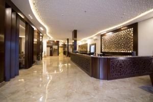 O saguão ou recepção de Elaf Aparthotel