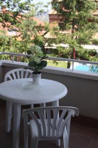 Un balcón o terraza de Aparthotel Marsol