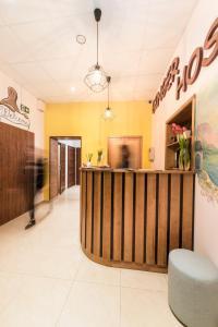 Lobby alebo recepcia v ubytovaní Ginger ApartHostel