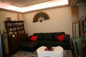 Zona de estar de AnaKlara en Azkoitia