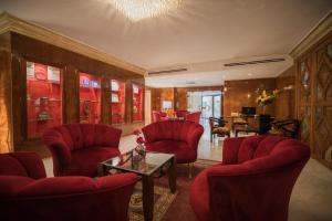 منطقة جلوس في فندق عمان انترناشونال