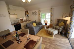 A seating area at Almond Tree Cottage