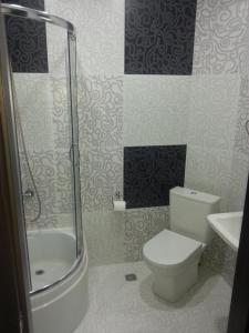 A bathroom at Giorgi's Apartment