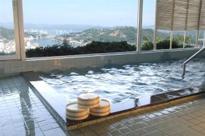 The swimming pool at or near Senkoji Sanso