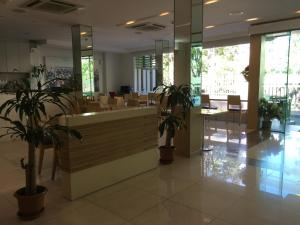 The lobby or reception area at S3 Residence Park