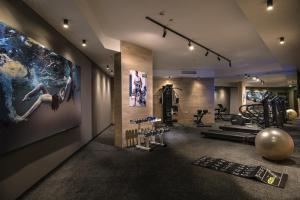 Фитнес център и/или фитнес съоражения в Хотел Блу Бей