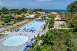 A view of the pool at Hôtel Odalys Erromardie or nearby